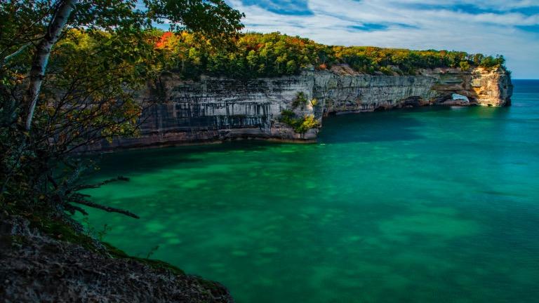rocks national lakeshore