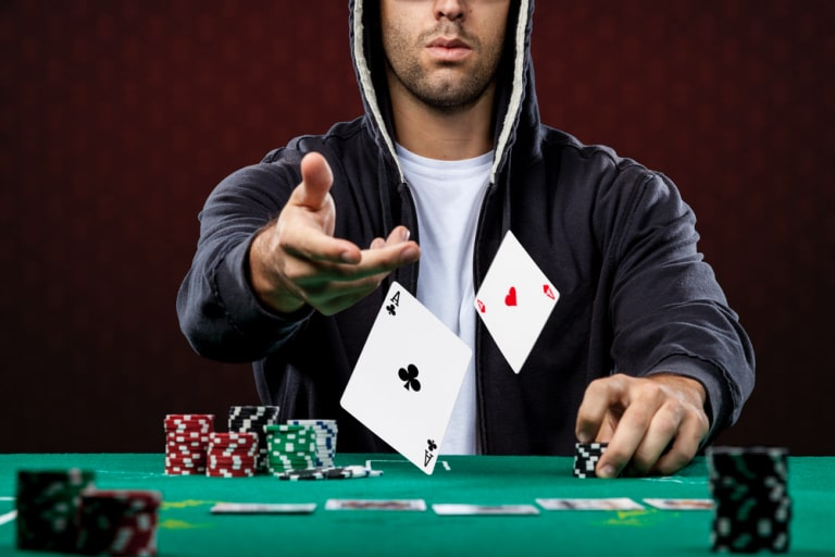 poker is an arena to challenge others